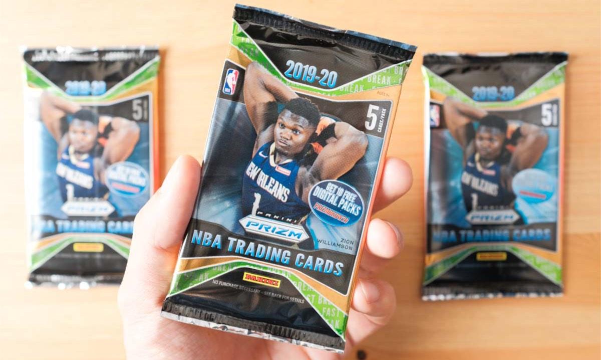 NBAトレーディングカード「PRIZM」開封。ビギナーズラックあるか!?