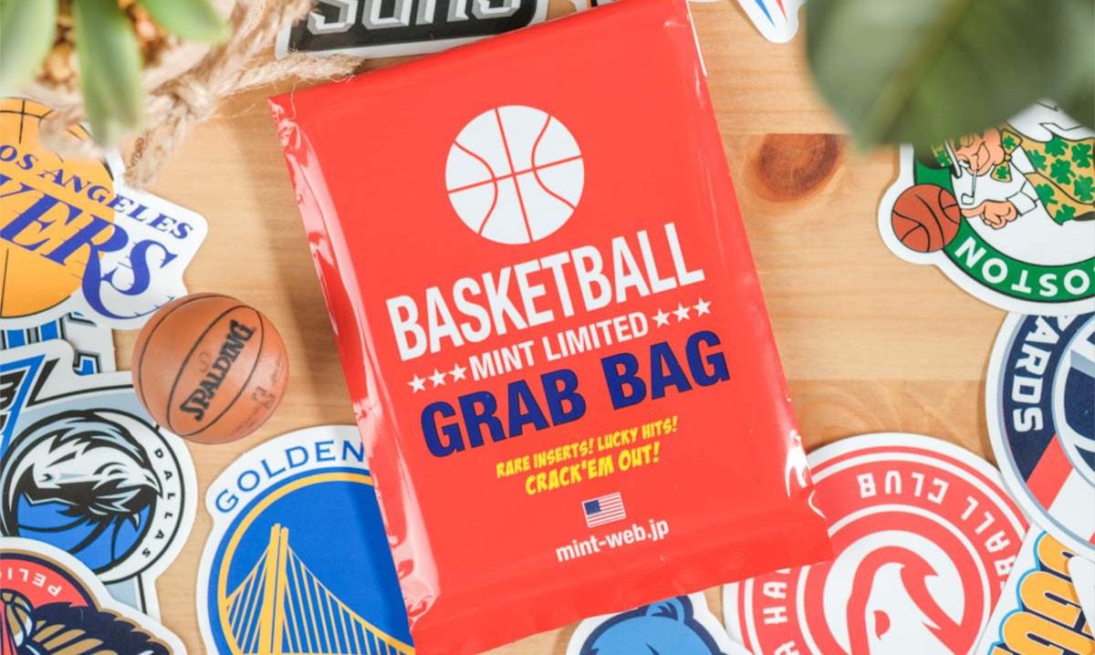 MINTのNBA GRAB BAG(オリジナルパック)で初のメモラビリアカードゲット。