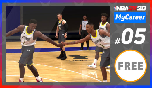 【NBA2K20】マイキャリア#005 ドラフトコンバイン参戦!あのザイオン・ウィリアムソンとチームアップ!